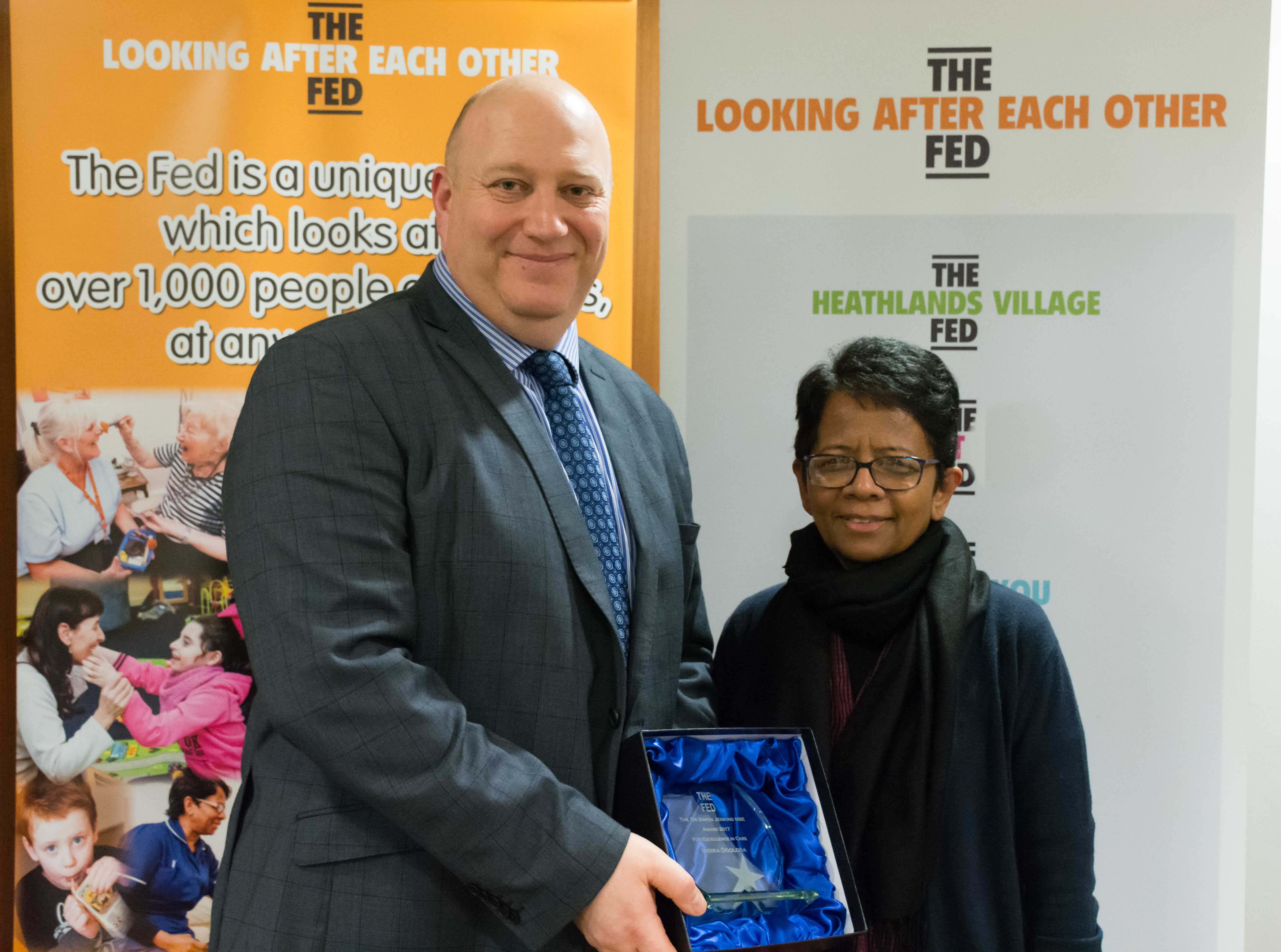 Featured image - Heathlands Care Staff Go Platinum